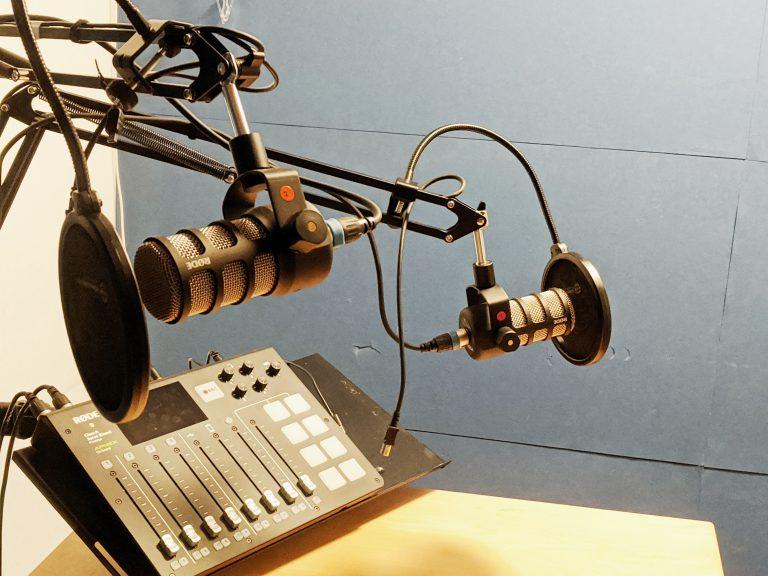 Podcast studio at Mesta Coworking